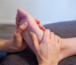 Voetmassage helpt o.a. bij stress